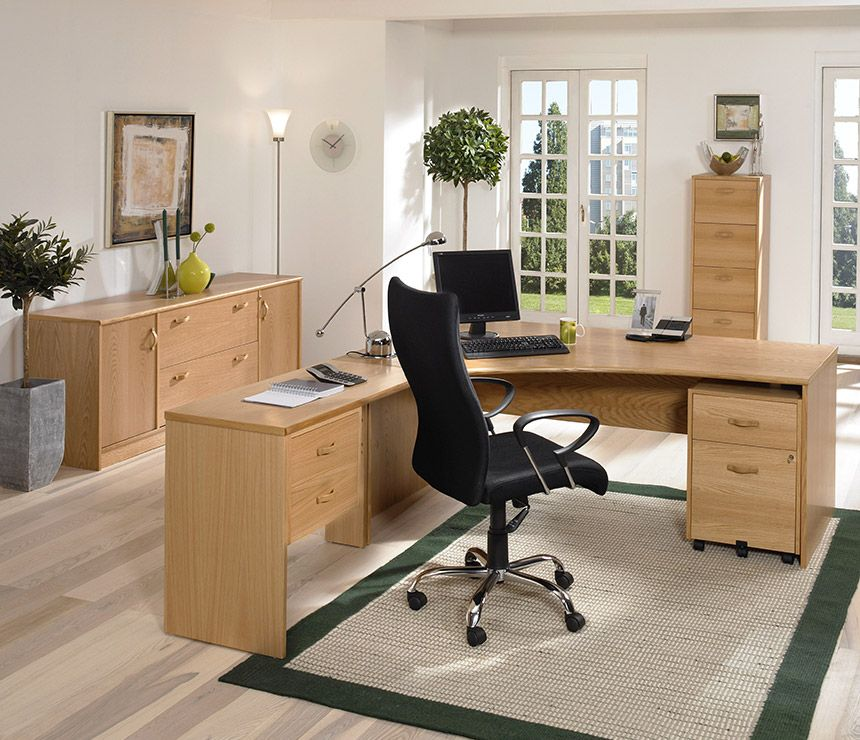 Solid Pine And Oak Home Office Furniture From A World Of Oak A
