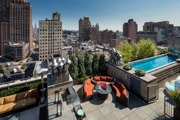 penthouses 66 leonard street amazing tribeca rooftop. Black Bedroom Furniture Sets. Home Design Ideas