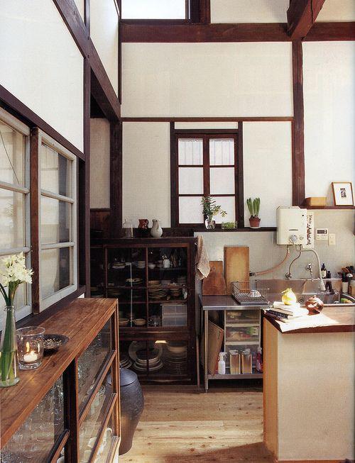 Japanese Kitchen For Color Reference Interieur De Cuisine Style Cuisine Interieur Maison