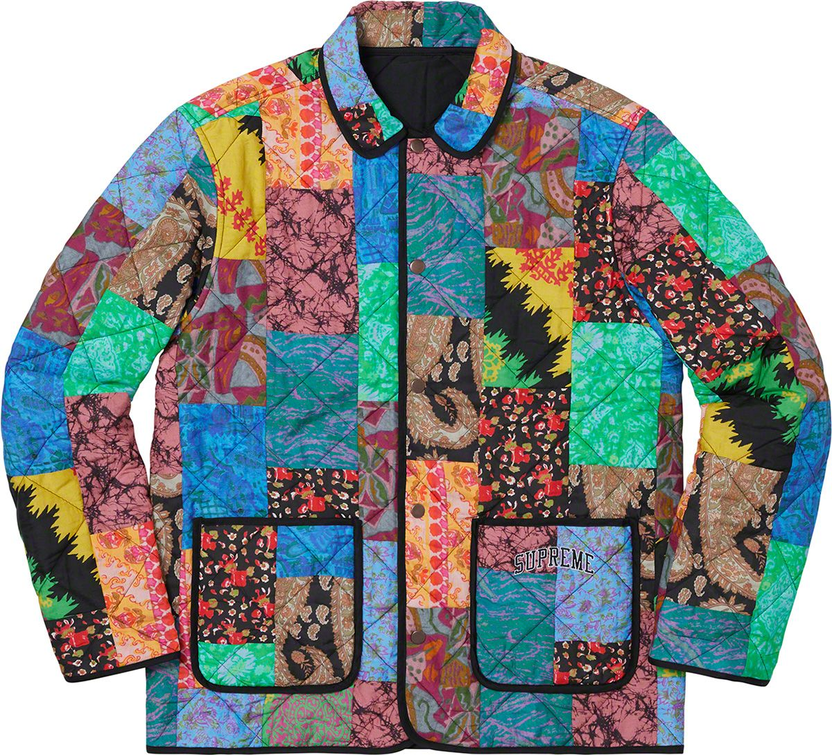 296b71a14 Supreme Reversible Patchwork Quilted Jacket | Clothing Inspiration ...