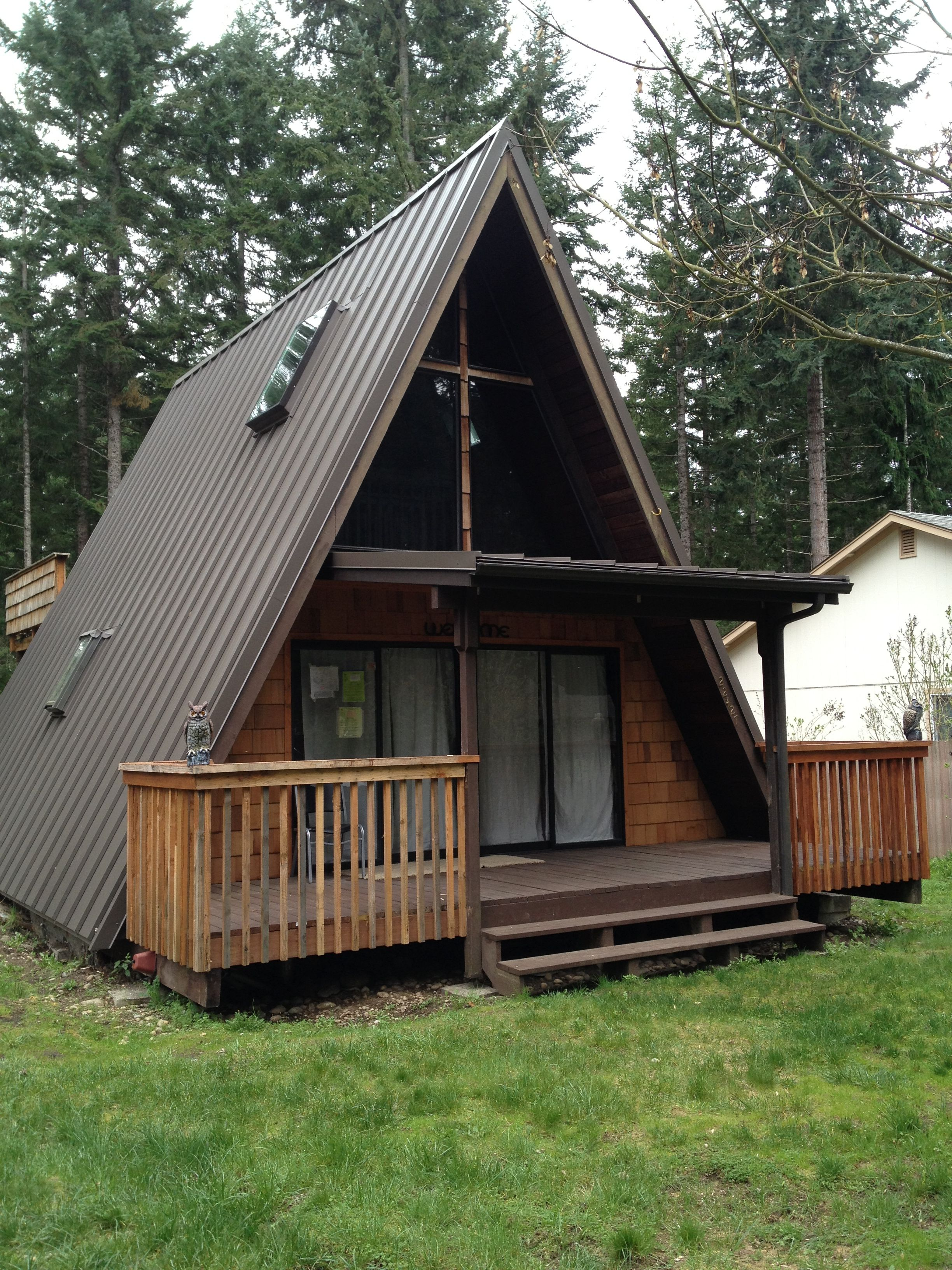 Metal Roofs In The Puget Sound Cabin Inspiration