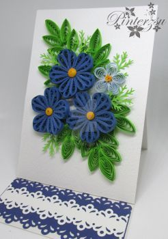 Greeting card by pinterzsu also quilled diyas pinterest cards rh