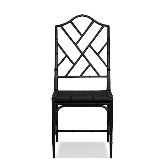 Chippendale Dining Chair Frame Side Black