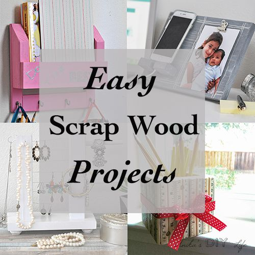Simple Scrap Wood Projects For Beginners Diy Pinterest
