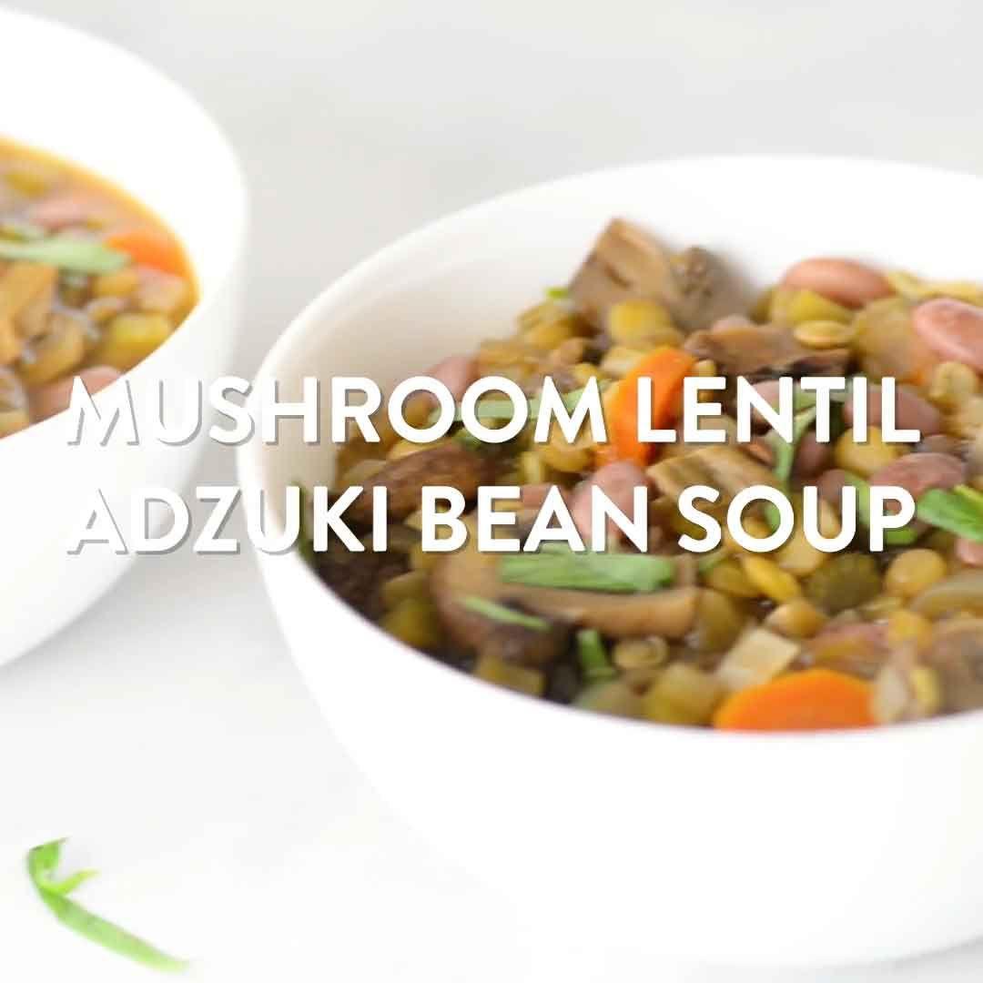 Recipe Adzuki Bean Soup