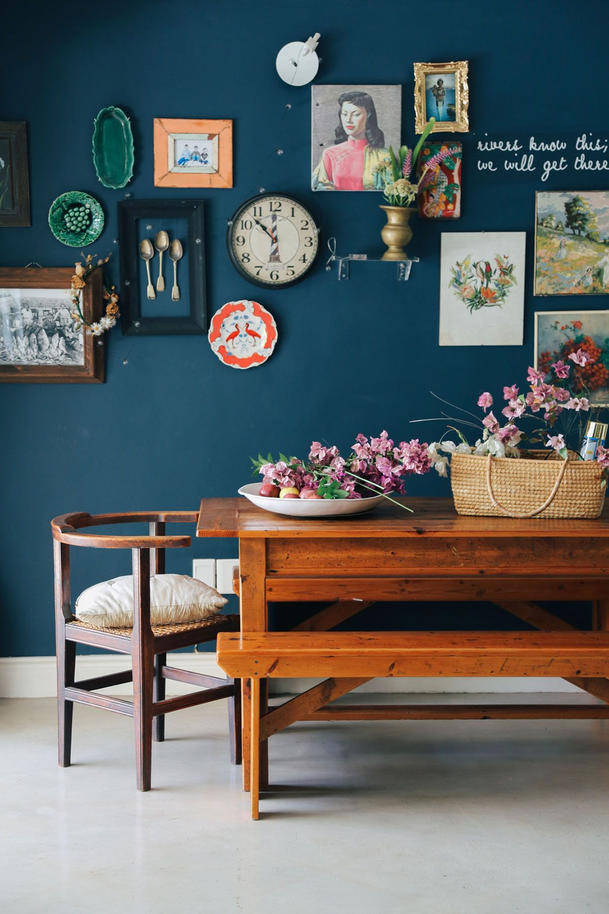 A Florist S Bohemian Home In Cape Town 15 Years Cape Town And Cape # Rangement Tele Et Sono