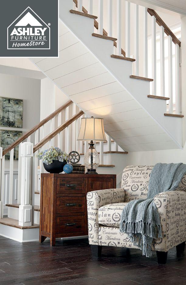 ashley augmented app furniture reality mobile levon cupboard homestore