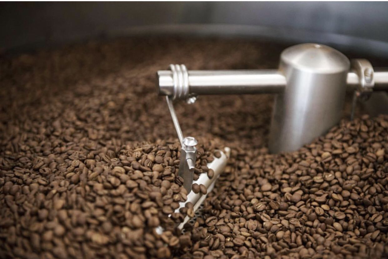 Bourbon barrel aged coffee 10oz bag blended coffee