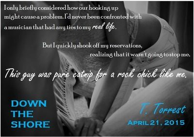 BLOG TOUR, EXCERPT & GIVEAWAY: Down The Shore: A Rock-and-Roll Romantic Comedy by T. Torrest - #RockstarAlert - iScream Books