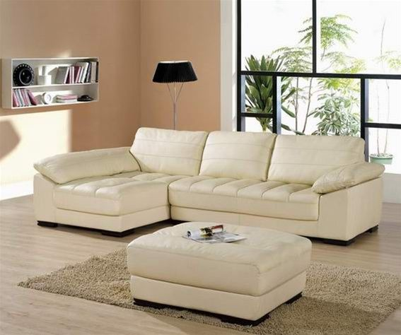 Sophisticated All Italian Leather Sectional Sofa Italian Leather