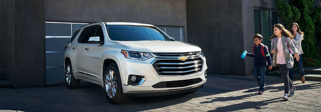 All New 2018 Traverse Midsize Suv Is Completely See More At