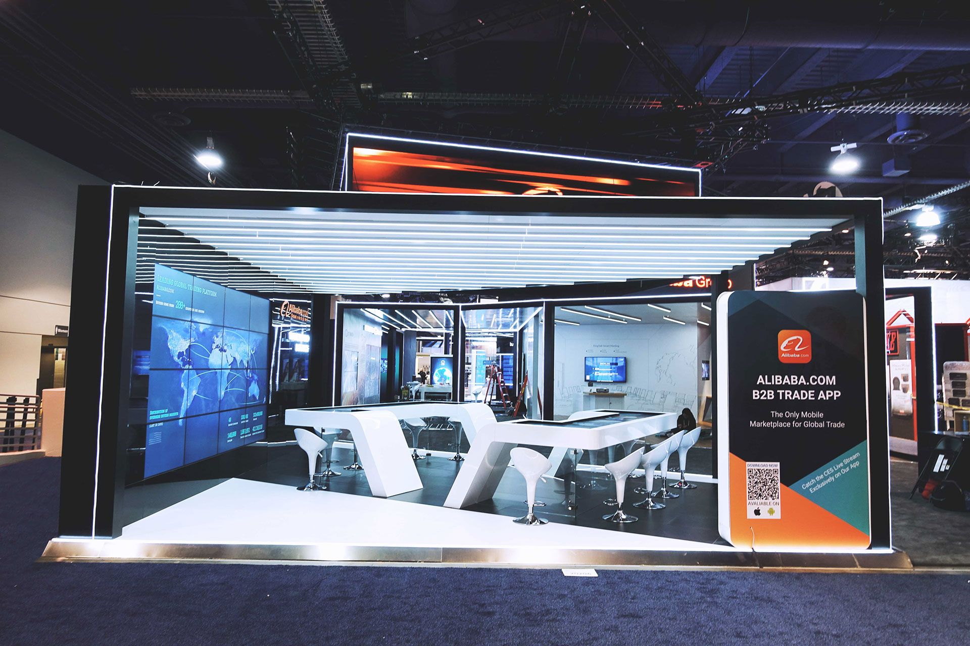 Alibaba 2018 Ces Booth On Behance