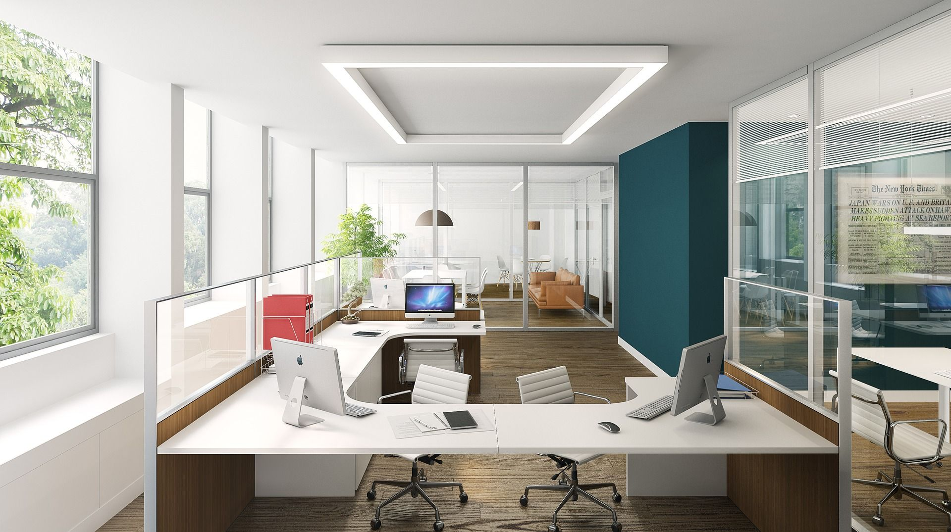 7 Chic Design Trends To Create More Productive Work Environment