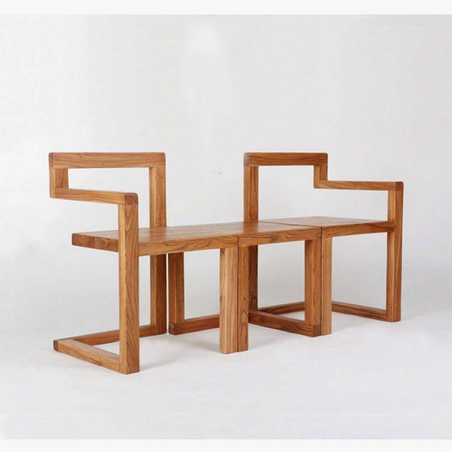 Minimalist Modern Cafe Tearoom Furniture Design Wooden Minimalist Furniture Wood Furniture