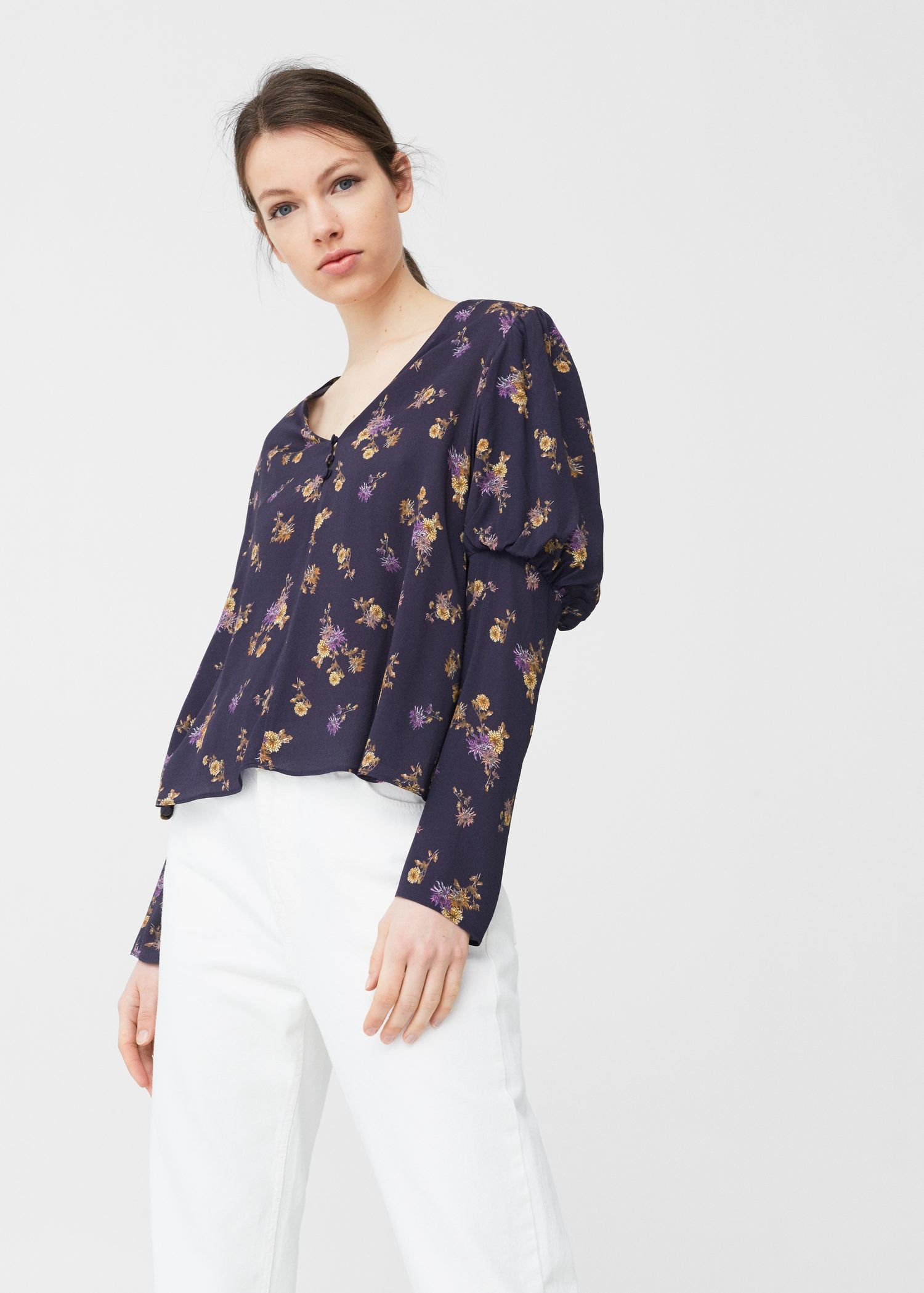 · Estampado Blusa Work Mujer My Floral Pinterest qZPR6xp