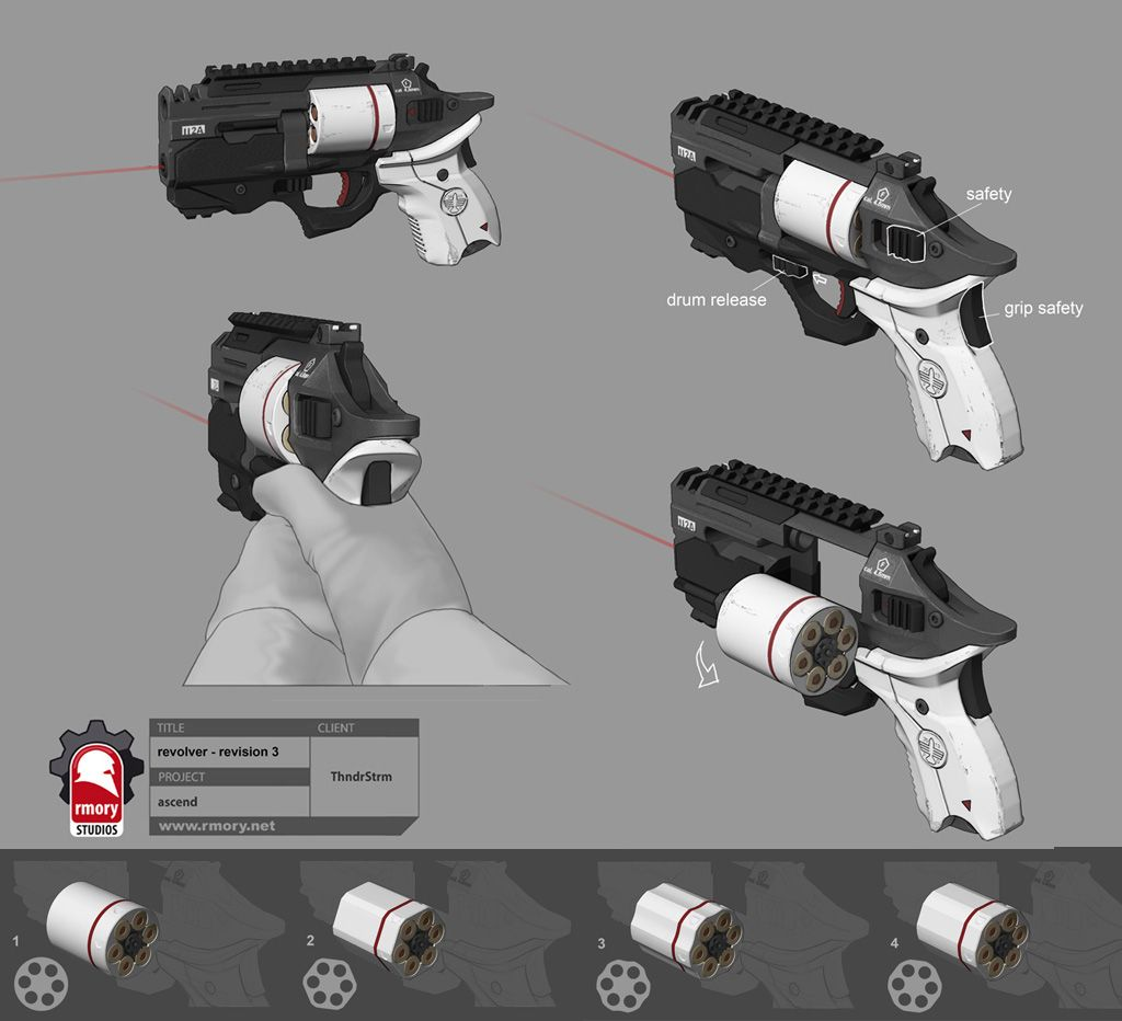 cool revolver concepts - Google Search