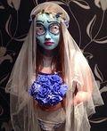 Corpse Bride Homemade Costume - 2014 Halloween Costume Contest