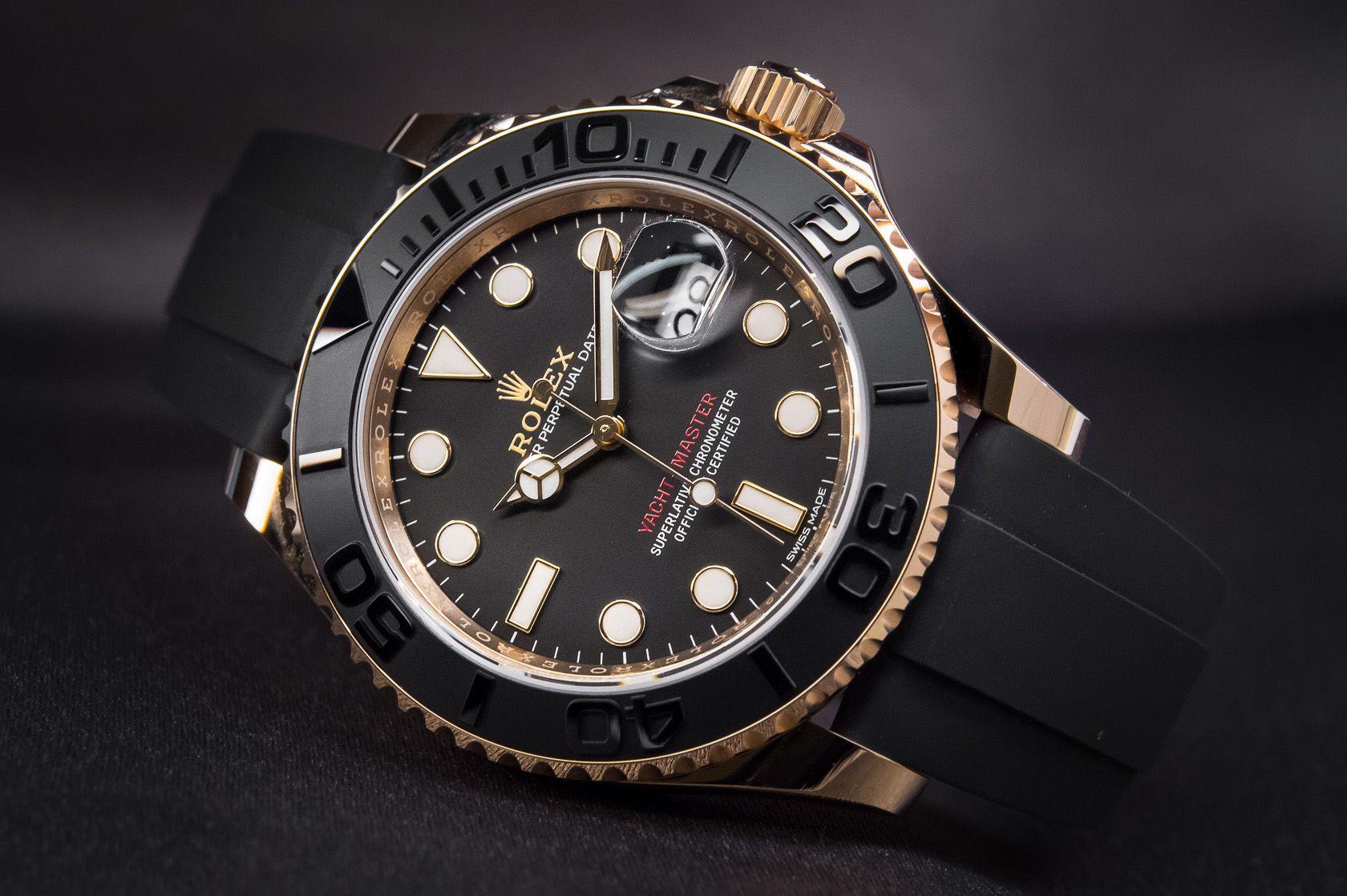 Rolex Yacht Master Everose 116655 Watches For Men Rolex Luxury Watch Brands