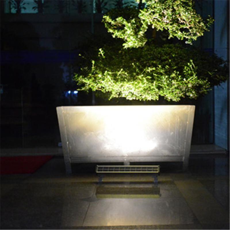 Leche Mur Solaire Led 300 Lumens Wall Washer Autonome Trendszy Lampes Solaires Lampe D Exterieur Eclairage Lineaire
