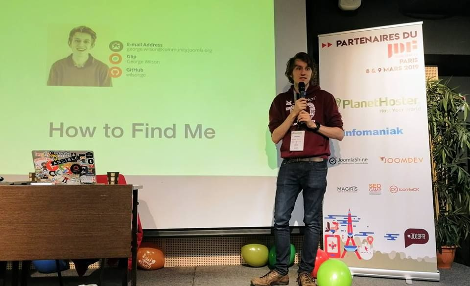 Live News From Joomladay France George Wilson Just Released The