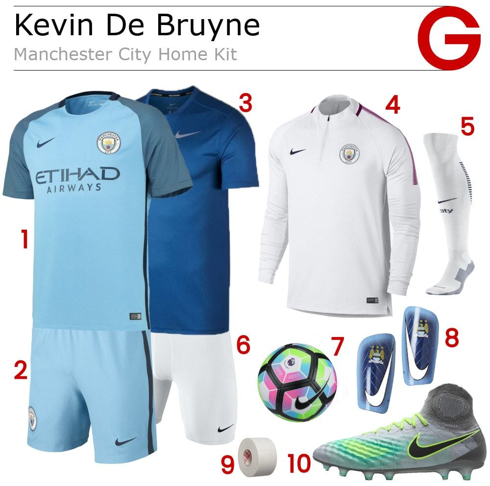 premium selection 32a02 87528 Grab your own Kevin De Bruyne Manchester City Home Jersey ...