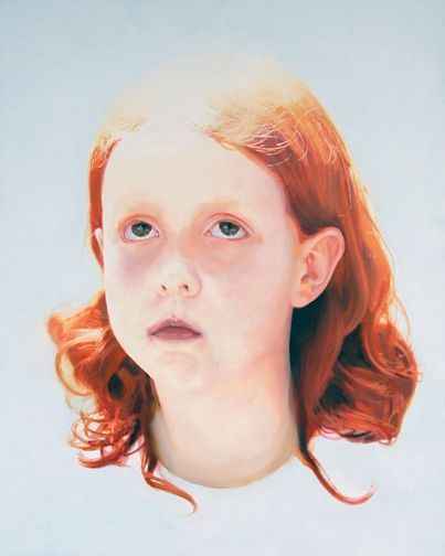girl with copper hair, ben walmsley