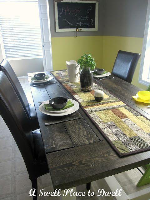 Diy Farmhouse Table For Under 100 With Images Diy Farmhouse