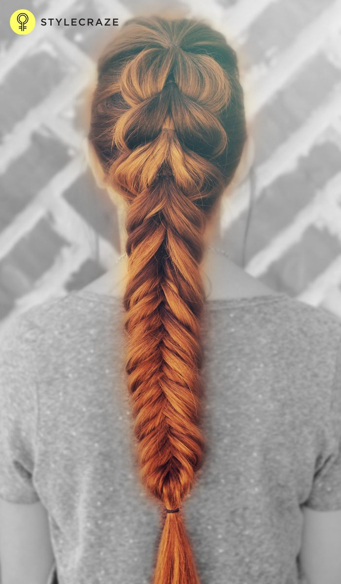 how to make fishtail braid step by step