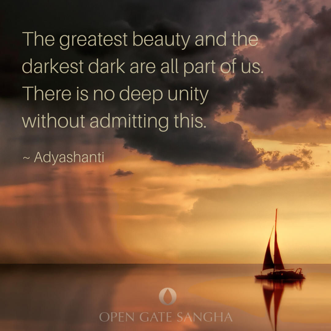 """The greatest beauty and the darkest dark are all part of ..."
