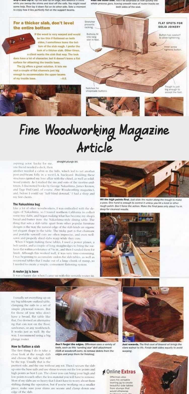 Fine Woodworking Magazine Article Offerman Woodshop Woodworkingmagazines Woo Fine Woo In 2020 Fine Woodworking Magazine Woodworking Magazine Fine Woodworking