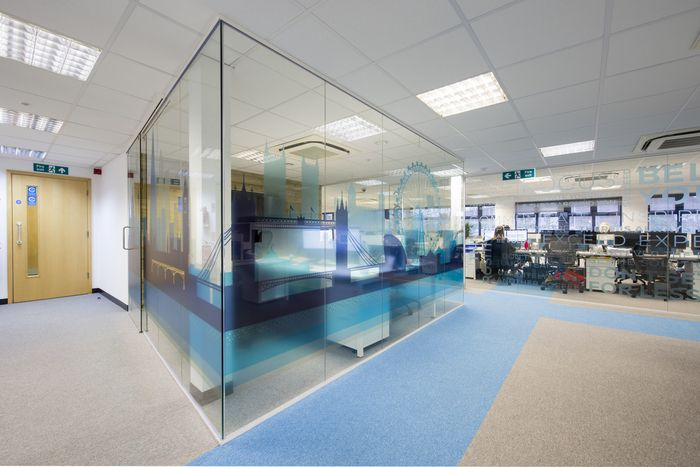 accent office interiors. accent office interiors has designed the new offices of recycling solutions company powerday located in london a