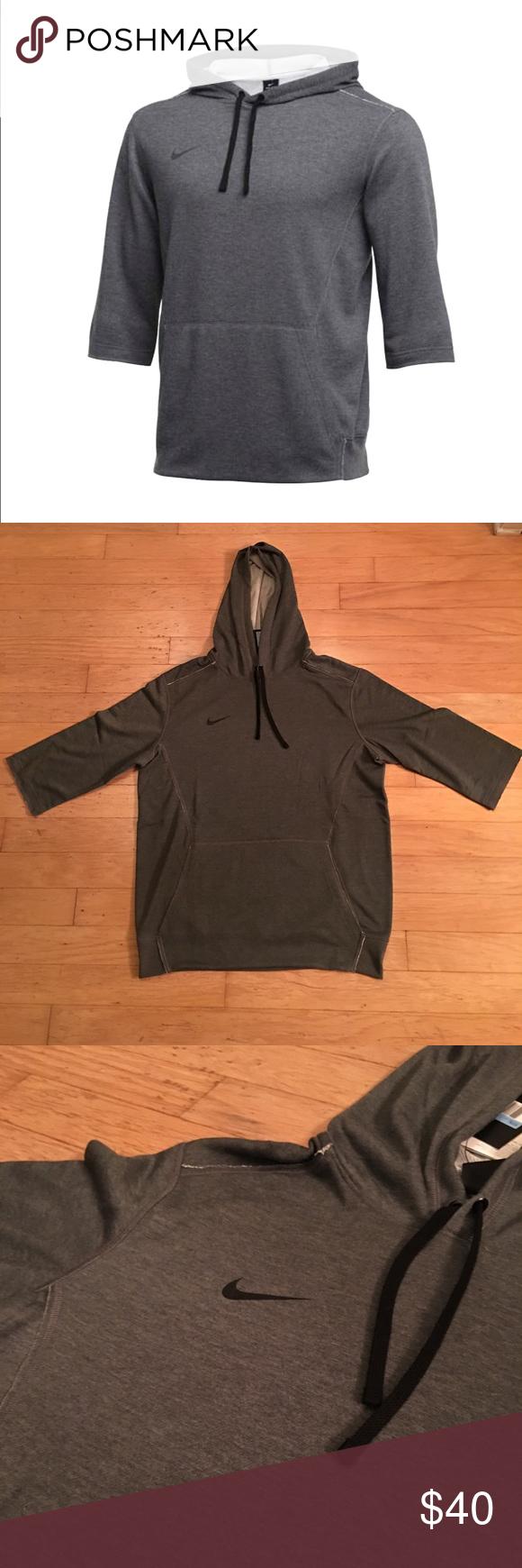 nike 3/4 flux hoodie