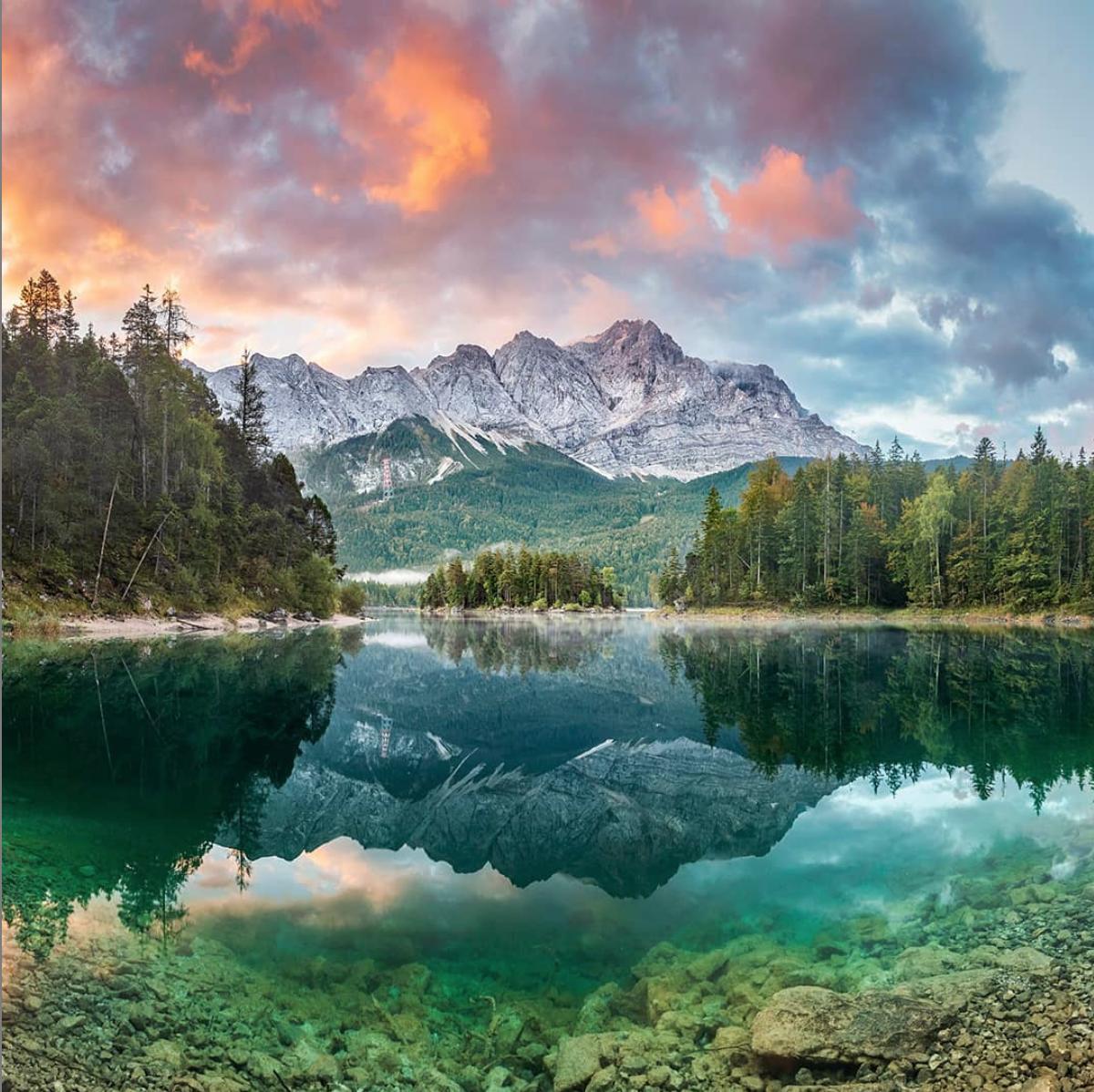 Germany Austria High Peaks Of The Bavarian Tyrol Hiking Tour Scenic Lakes Hiking Tours Scenic