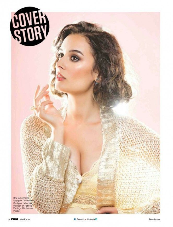 Evelyn Sharma - FHM India, March 2015 : Indian Celebrtities (F) FunFunky.com