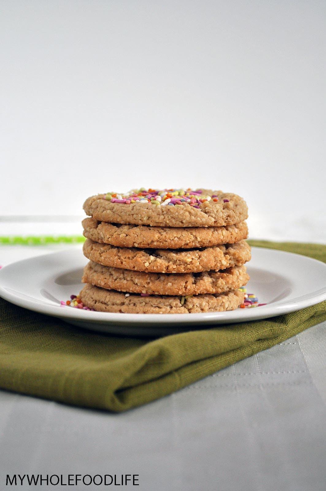 Grain free sugar cookies my whole food life grain free