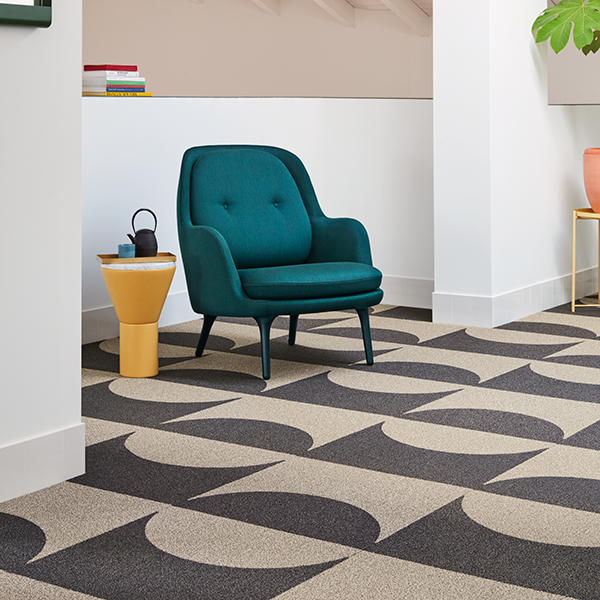 Curve Shaw Contract Shaw Hospitality Modular carpet