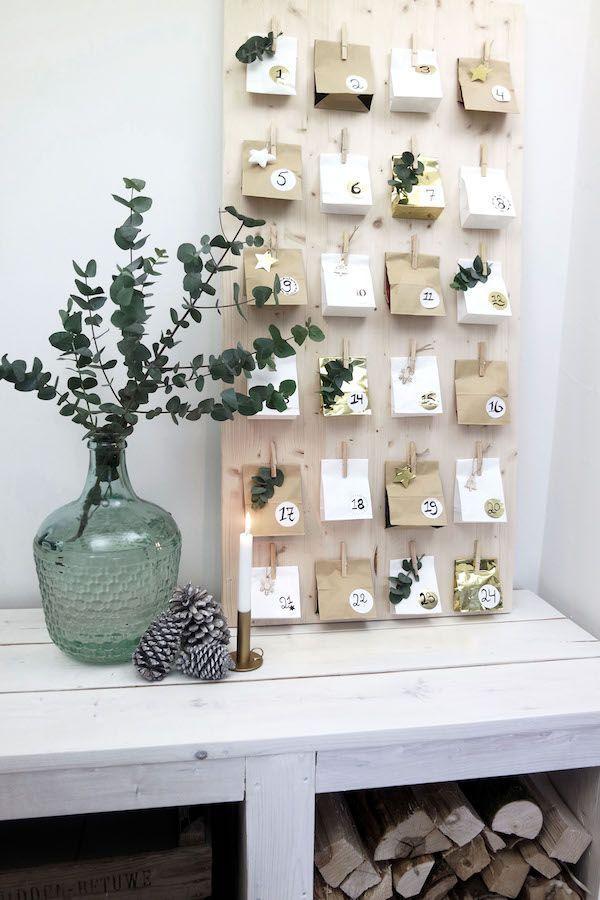 Wollen Sie einen Adventskalender selber basteln- kreative Bastelideen