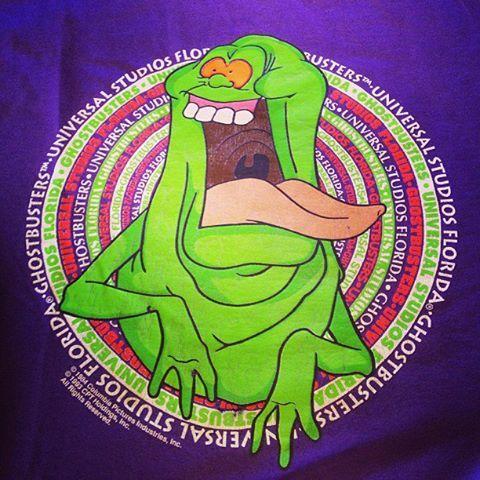 Universal Studios Ghostbusters Slimer T-Shirt