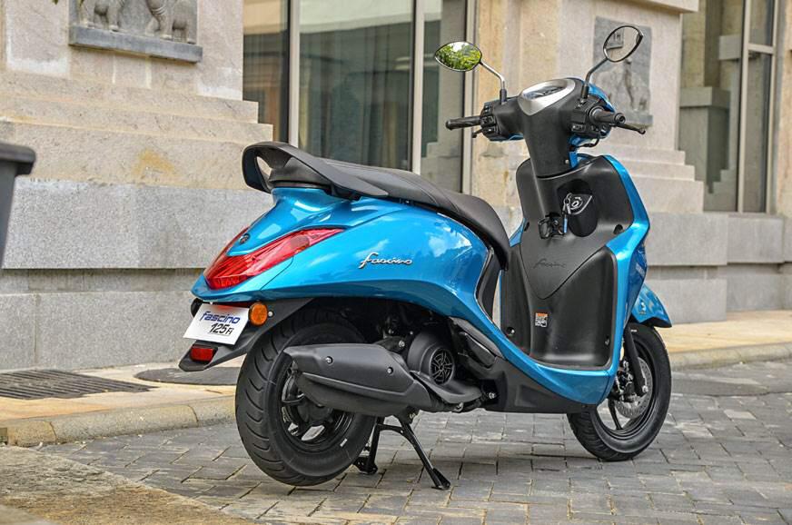 113cc Scooter Yamaha Fascino Launched At 52 500 Inr Yamaha Bikes