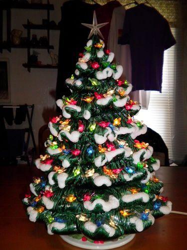 Vintage Ceramic Christmas Tree Rare Vintage Ceramic Christmas Tree