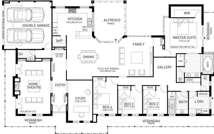 Bletchley Park Single Storey Display Floor Plan Wa Craftsman Floor Plans 4 Bedroom House Plans House Floor Plans