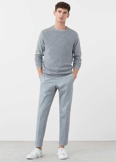 les clients d'abord professionnel de la vente à chaud magasin meilleurs vendeurs Slim-fit cotton chinos - Men | H O M M E in 2019 | Mens ...
