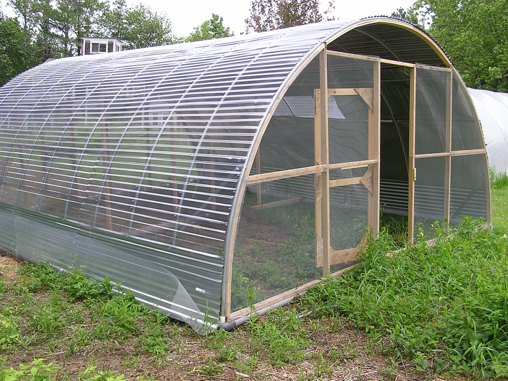 Hoop house chicken coop ideas pinterest coops for Pvc chicken tractor plans