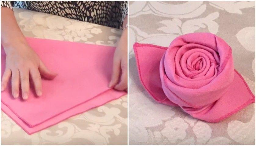 Un piccolo tocco per rendere unica la vostra tavola basta - Decorazioni con fazzoletti di carta ...