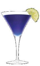 The Purple Rain cocktail recipe is a purple colored drink ...
