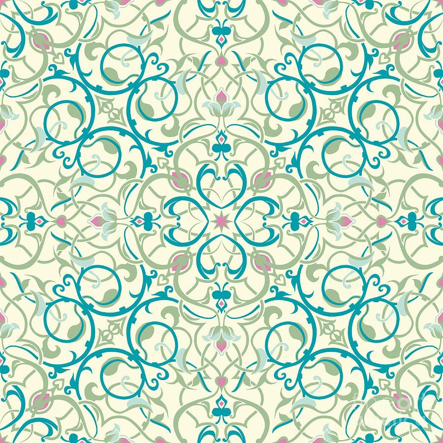 middle eastern tile patterns 3x3 sheets | Middle Eastern Inspired ...
