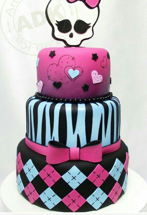 Monster High Cake Bday Cakes For My Girls Pinterest Monster