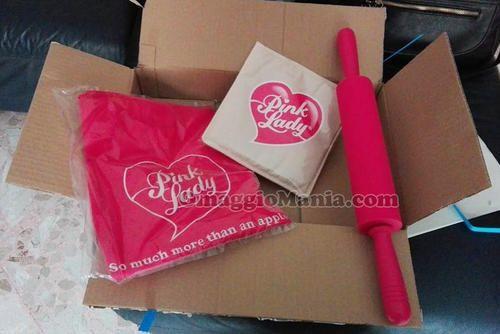 BuoniSconto: #Kit da cucina Pink Lady: grembiule mattarello e ...