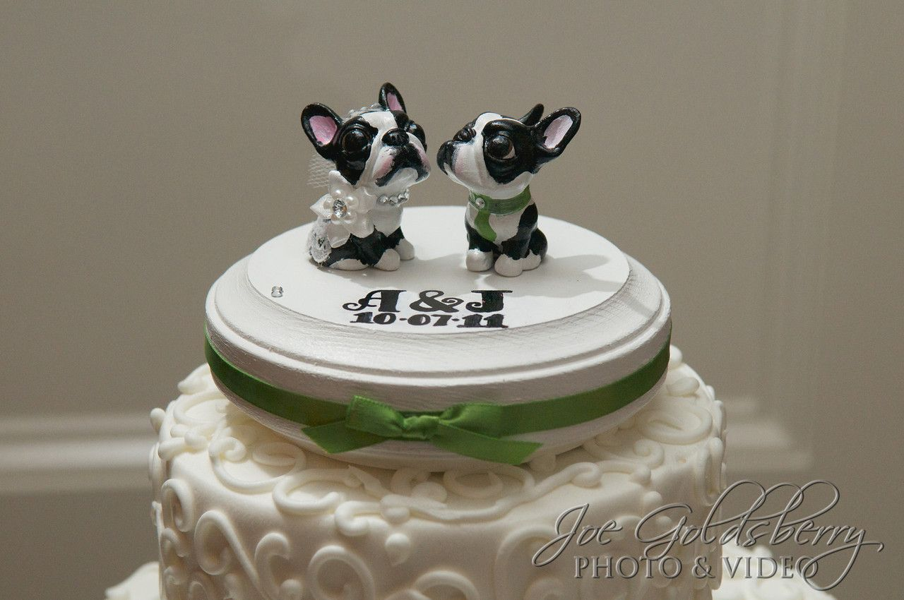 Boston terrier cake topper off the love for their dogs with