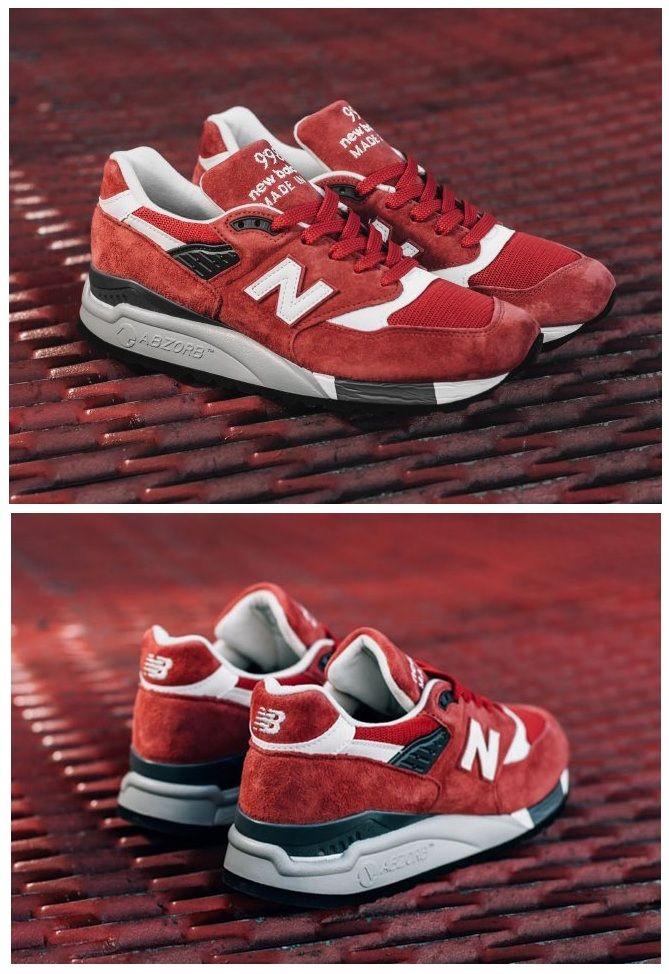 New Balance 998: Red Suede | スニーカー